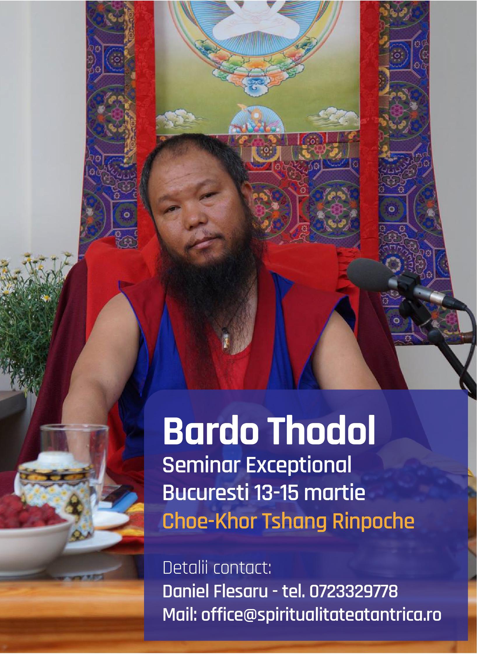 Bardo Thodol- Seminar Bucuresti